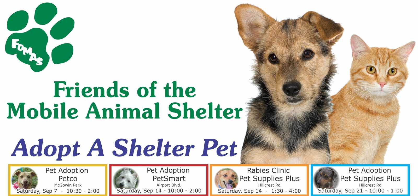 Friends of the Mobile Animal Shelter